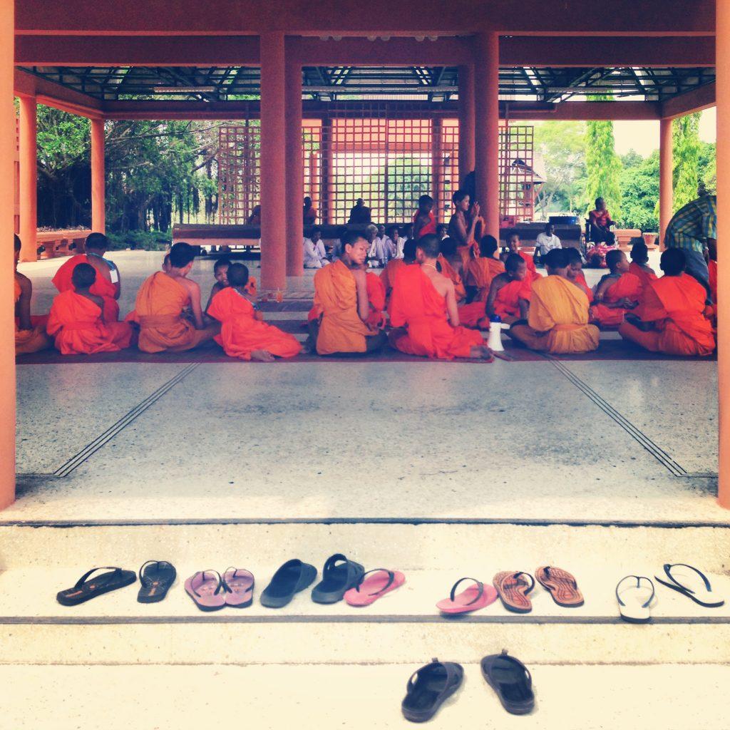 Phimai - les moines novices