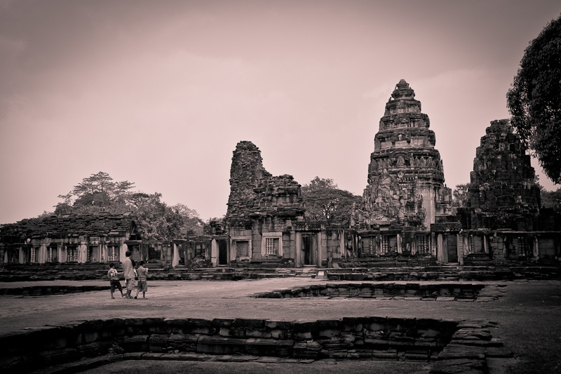 Phimai - promenade dans le temple