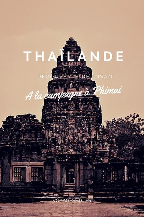 L'isan est une région hors des sentiers battus en Thaïlande. J'ai aimé m'y promener et visiter les temples khmers, notamment celui de Phimai