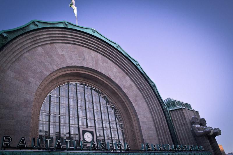 Trek urbain à Helsinki - Gare d'helsinki