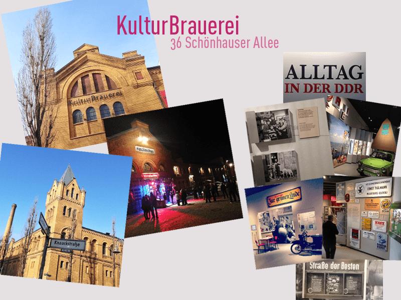 Berlin Prenzlauer Berg KulturBrauerei