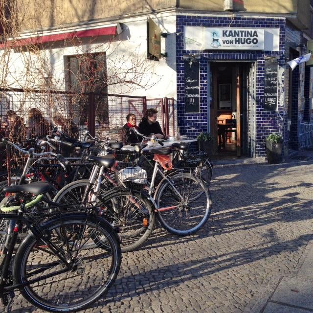 Visiter Berlin -Kantina von Hugo Kreuzberg