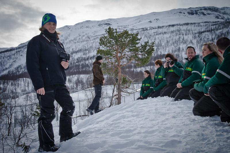Polar Park Norvege - En attendant les loups