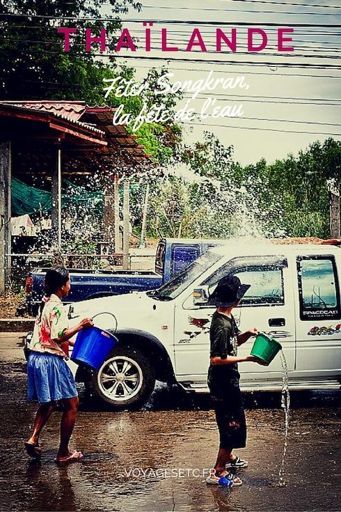 Fêter les 3 jours de Songkran en Thaïlande est un moment inoubliable, surtout quand on le fait dans les campagnes de l'Isan. Moment unique.