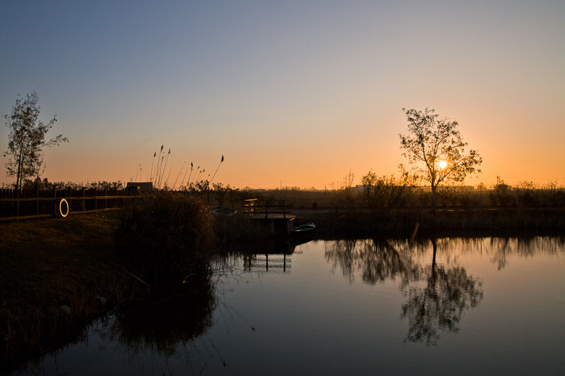 Catalogne - Lever de soleil sur le delta de l'Ebre