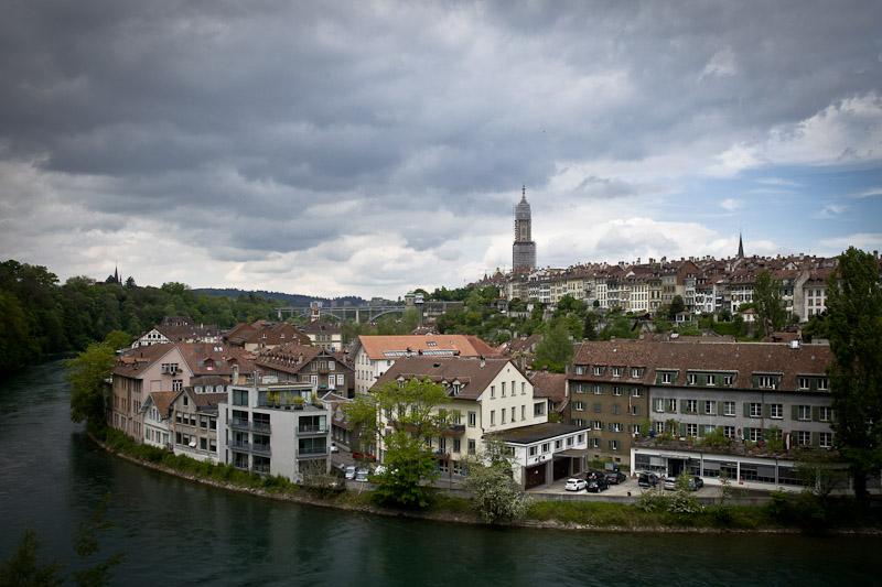 3 jours a Berne - Vue sur la vieille ville depuis le Barenpark