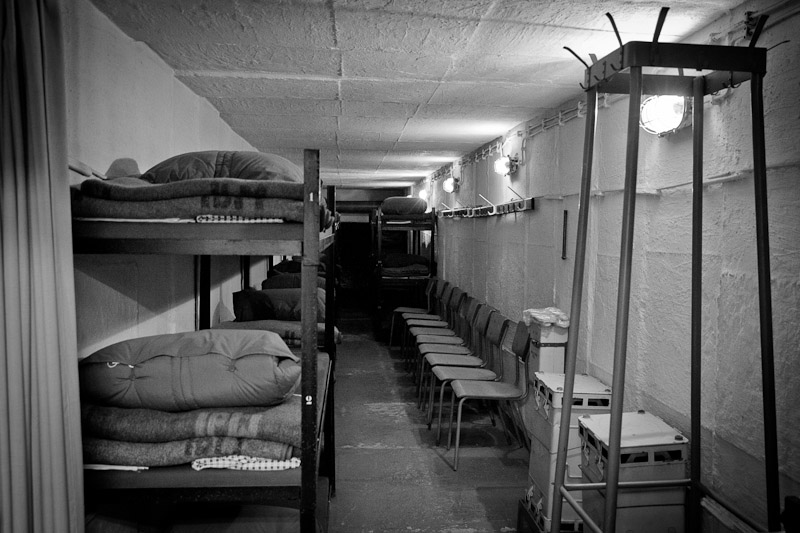 Visiter un bunker - Dortoir_
