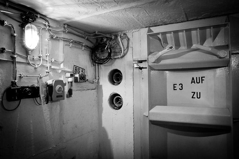 Visiter un bunker - Porte blindée