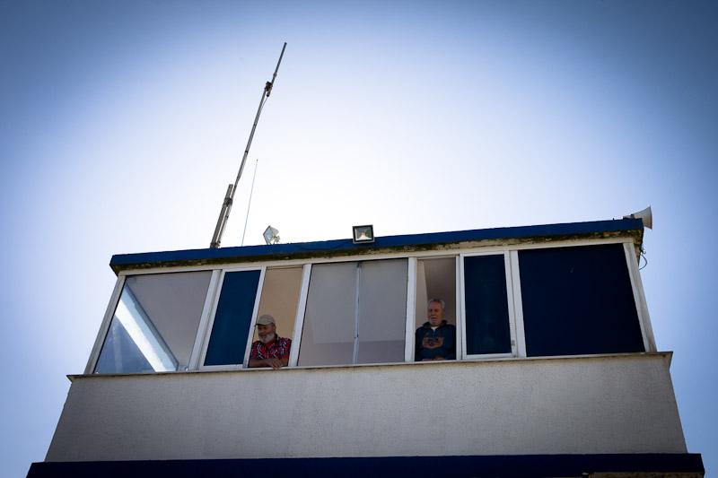 depart solitaire du figaro - capitainerie du port de Deauville