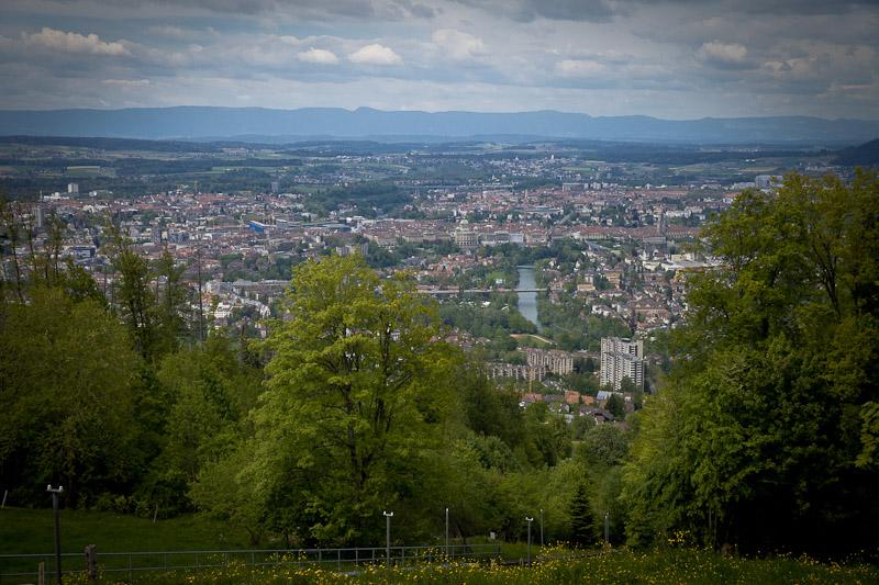 3 jours a Berne - Vue sur Berne depuis le mont Gurten