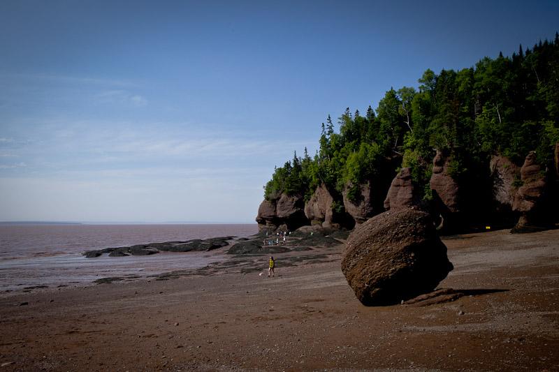 Nouveau Brunswick - balade baie de fundy
