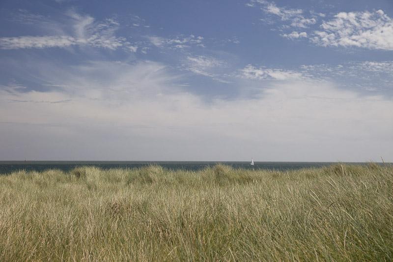 Mer des wadden - Vue de Sylt