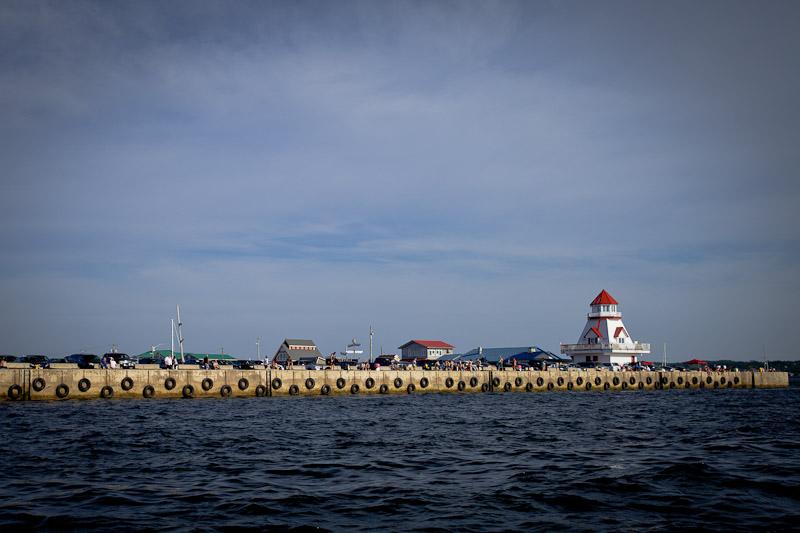 Nouveau Brunswick - Le port de Shediac