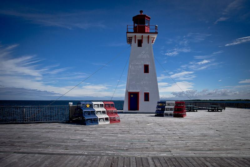 Nouveau Brunswick - phare de Shipaggan