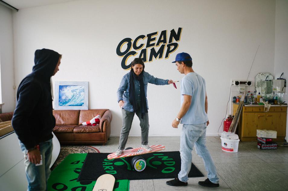 Surfer en Allemagne avec Angelo - Ocean Camp