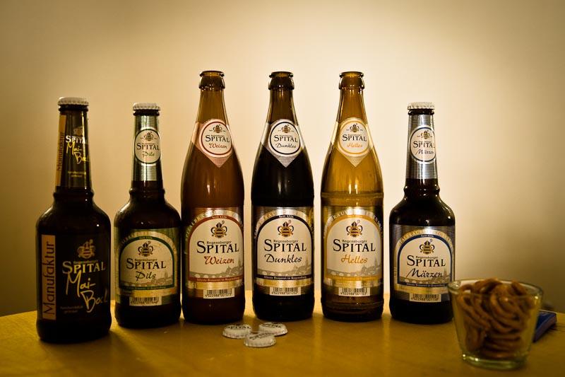 Voyage en Baviere - Degustation Biere Spital