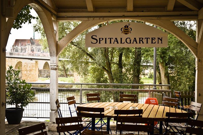 Voyage en Baviere - spitalbiergarten