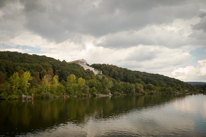 Voyage en Baviere - Temple walhalla bord du danube pres de ratisbonne