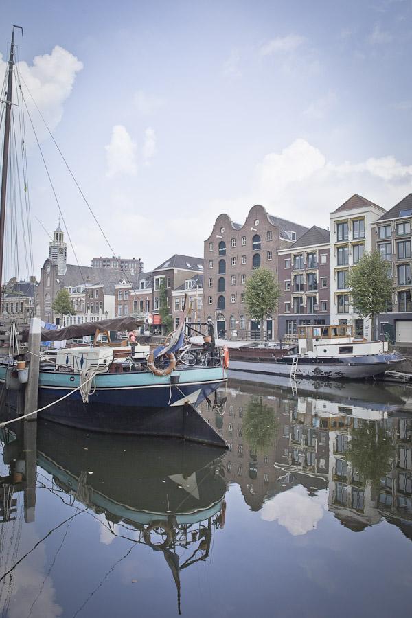 Delfshaven rotterdam - reflets