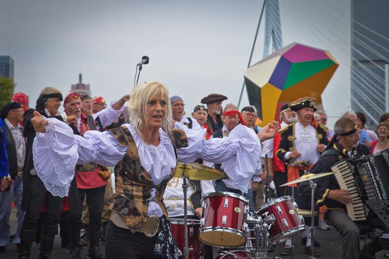 Rotterdam - la meneuse des pirates