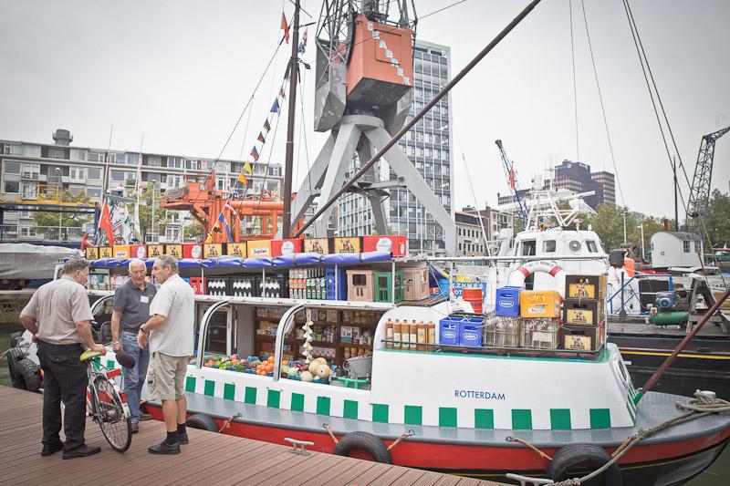 Rotterdam - le bateau épicerie de la meuse journées mondiales portuaires