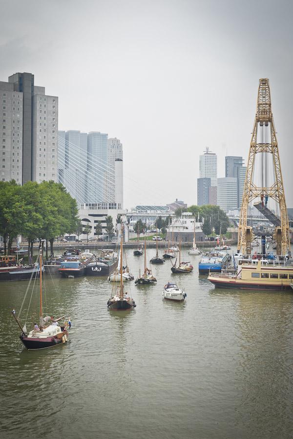 Port de Rotterdam - Entrée des bateaux