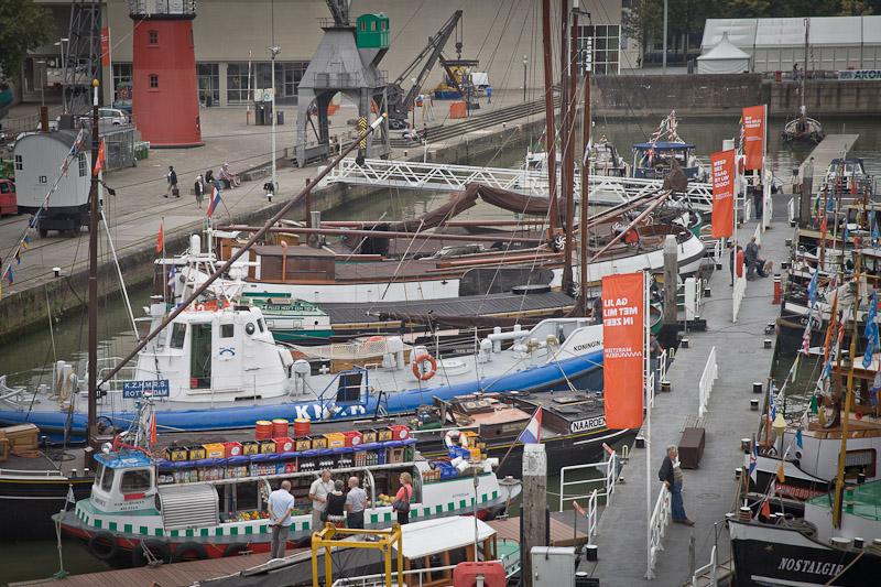 Port de Rotterdam - l'epicerie de la meuse vue de la tour