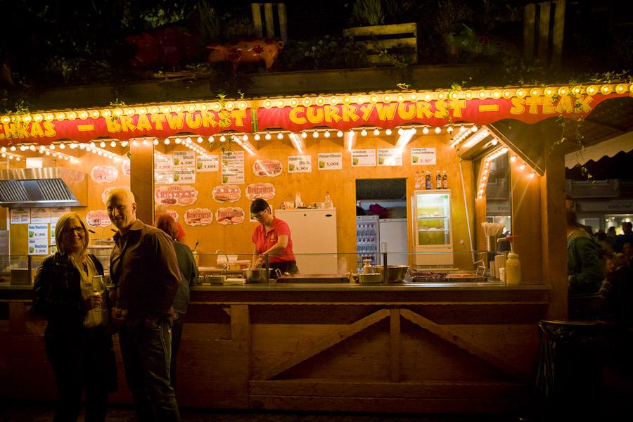 Bade wurtemberg weinsdorf - stand currywurst