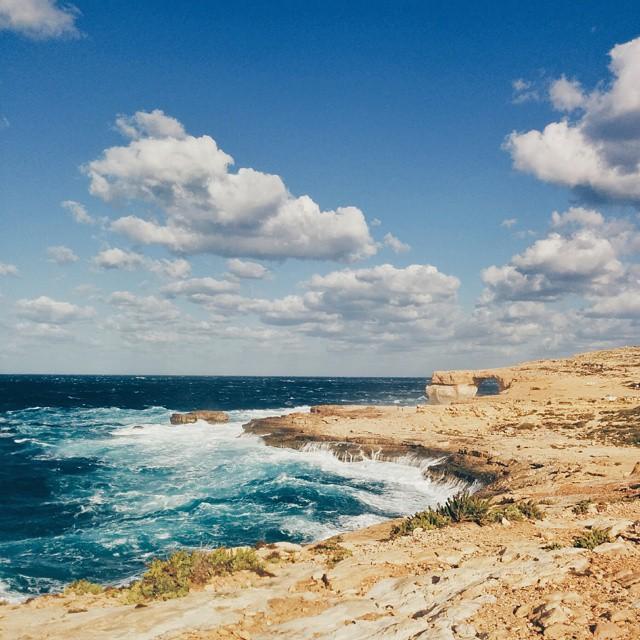 Asure window à Gozo Malte