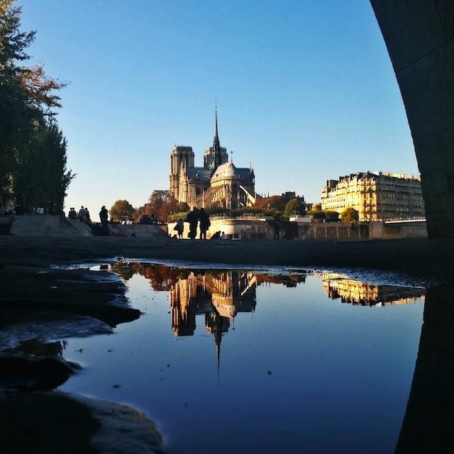 Visiter Paris - Reflet de notre dame