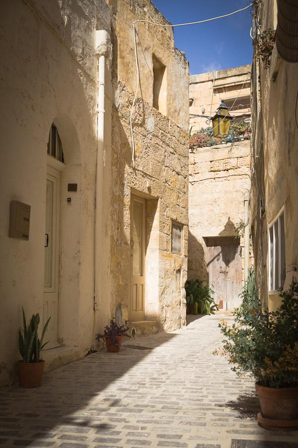 ruelle de victoria Gozo Malte
