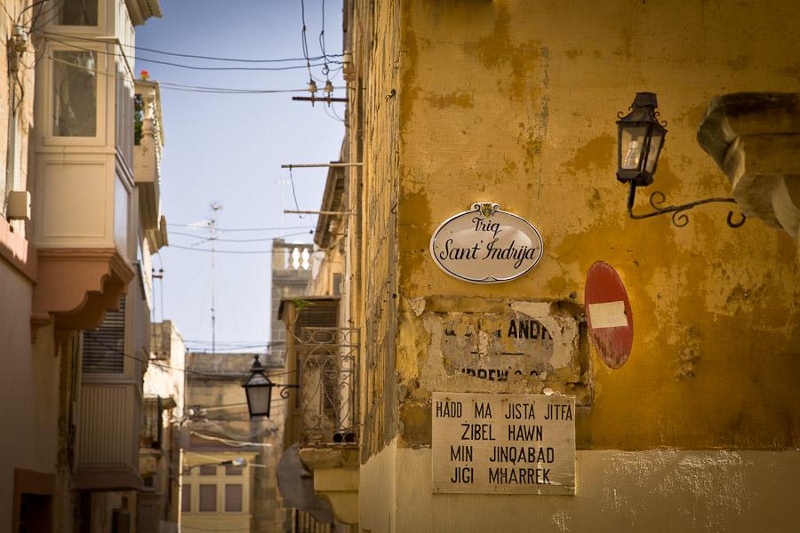 Gozo malte sens interdit