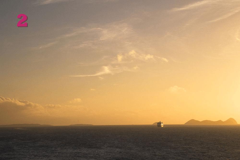 janvier 2014 - lever de soleil sur les caraibes