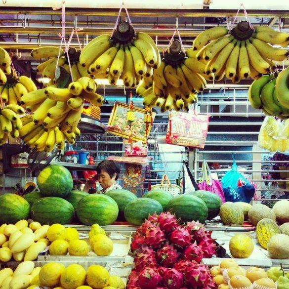 Visiter singapour - marché