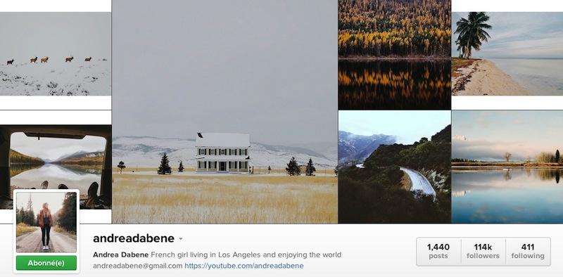 Instagramer Andrea dabene thatlittleredskirt