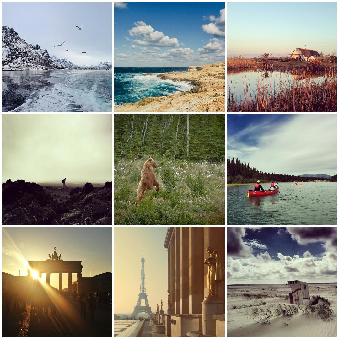 collage photos instagram 2014 voyagesetc