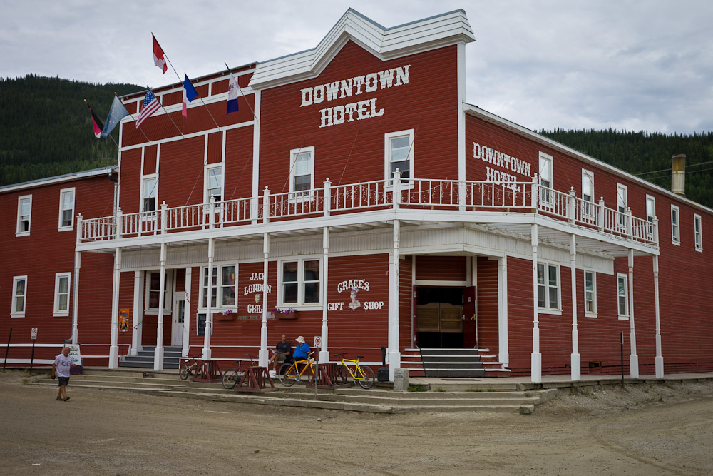 Dawson city - downtown hotel
