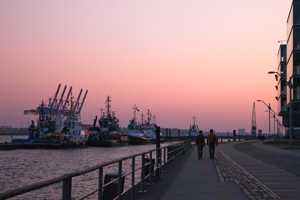 Hambourg - Balade sur le port