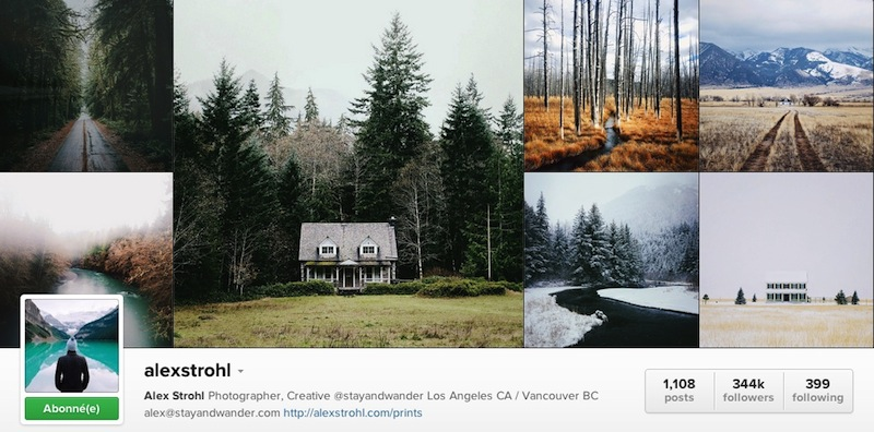 Instagram - AlexStrohl