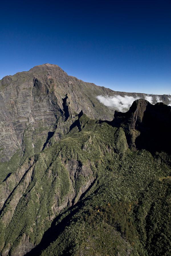 La Réunion vue du ciel -Cilaos vue du ciel