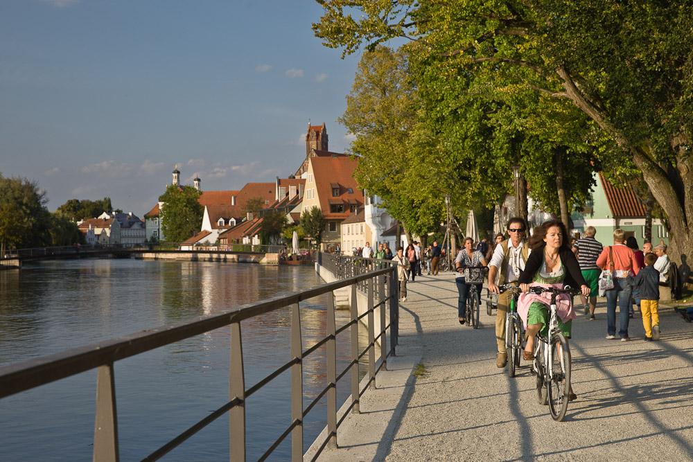 Landshut - A vélo à la fête