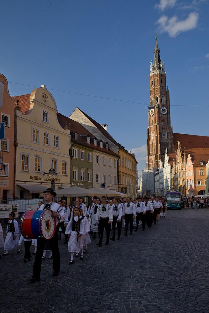 Landshut - Défilé des forains