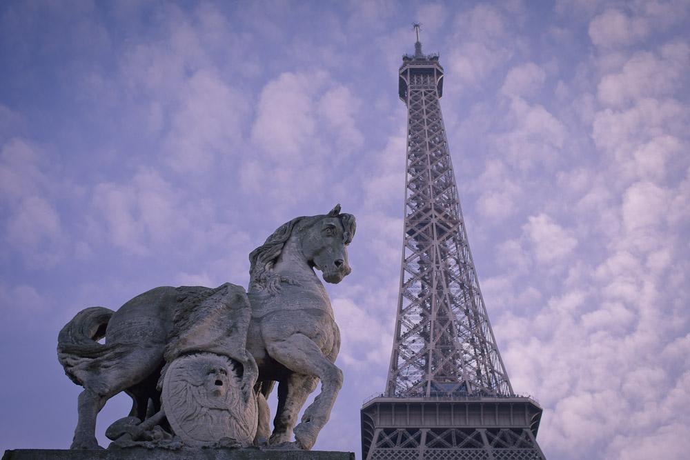 Le cheval et la tour Eiffel