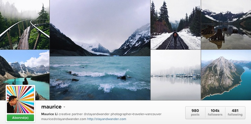 Maurice - Instagramer Canada