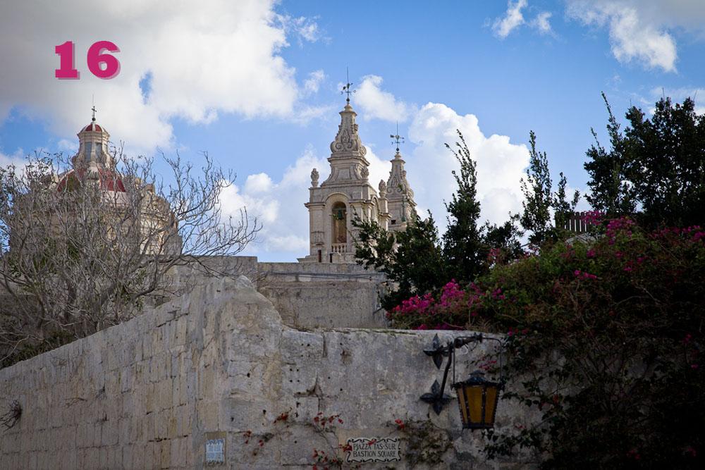 ville de Mdina Malte
