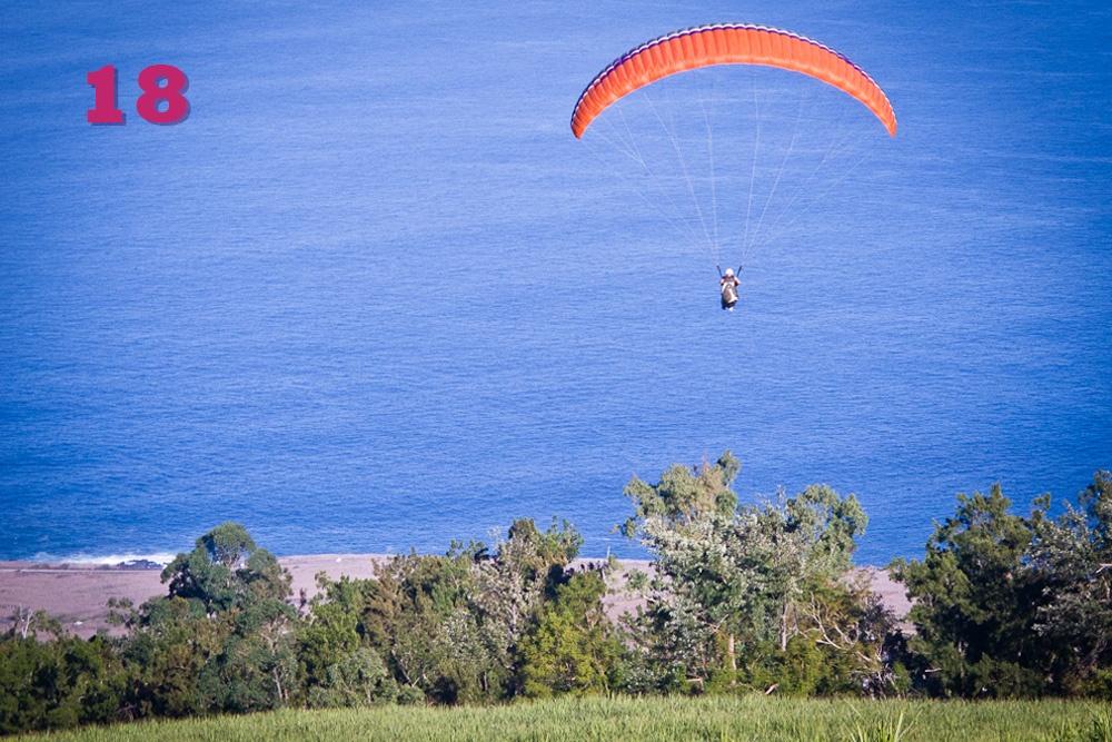 Bapteme parapente la Réunion France