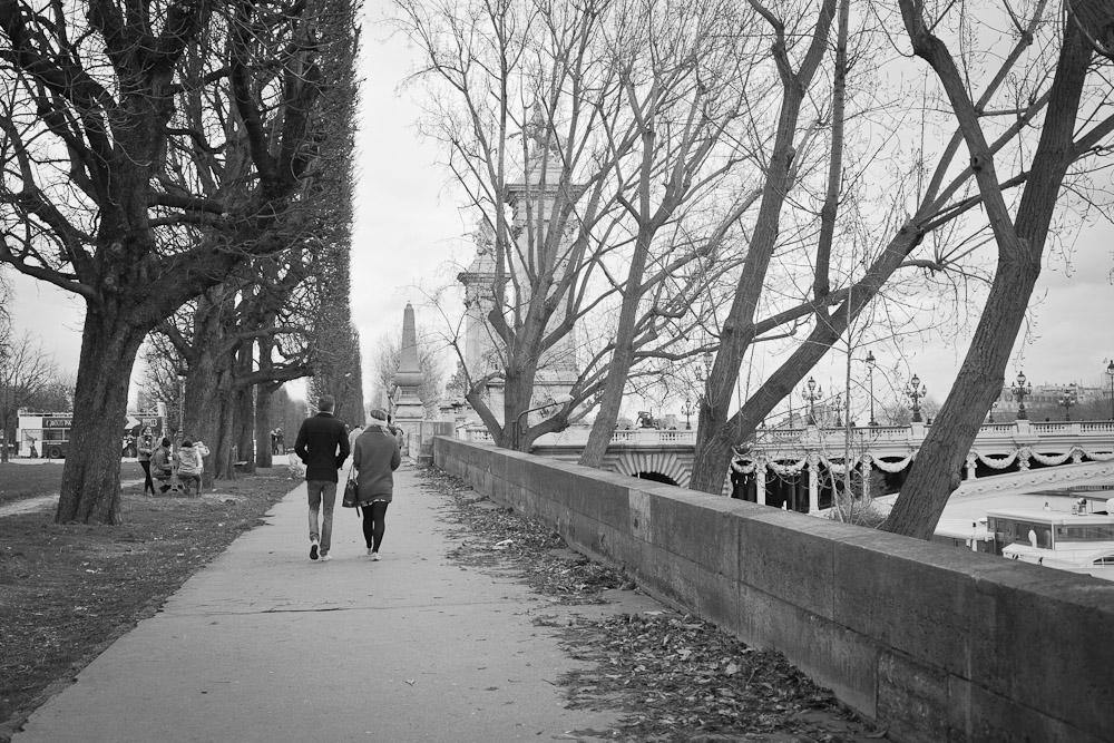Promenade sur les quais de Paris