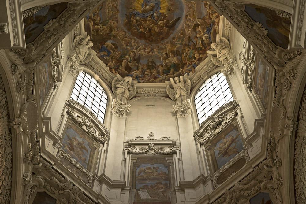 Passau Allemagne - Trompe l'oeil dans la cathédrale
