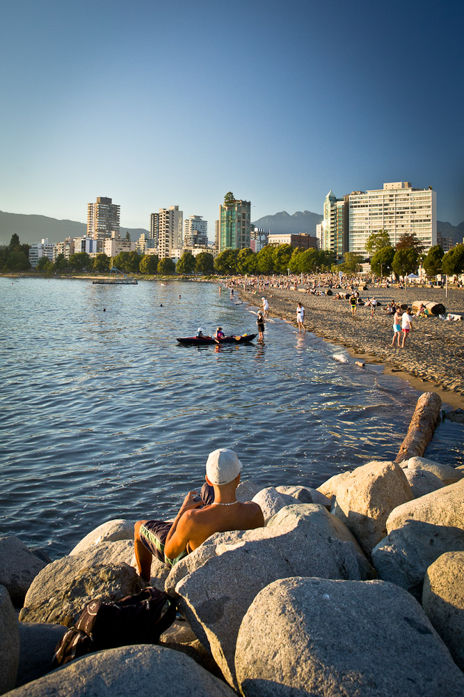 Vancouver - English bay plage