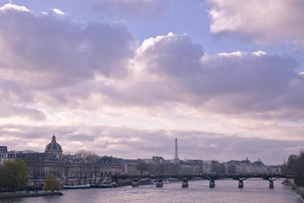 vue sur le pont des arts